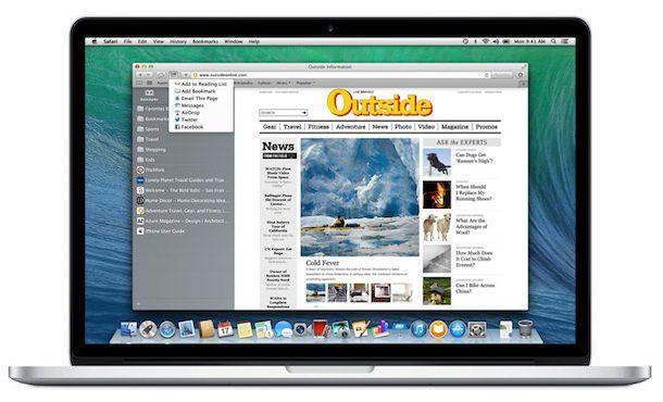Закладки iCloud между iPhone, iPad и Mac OS X
