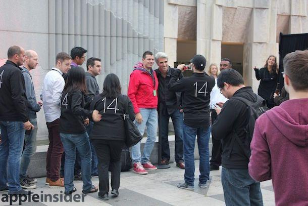 Крейг Федериги на WWDC