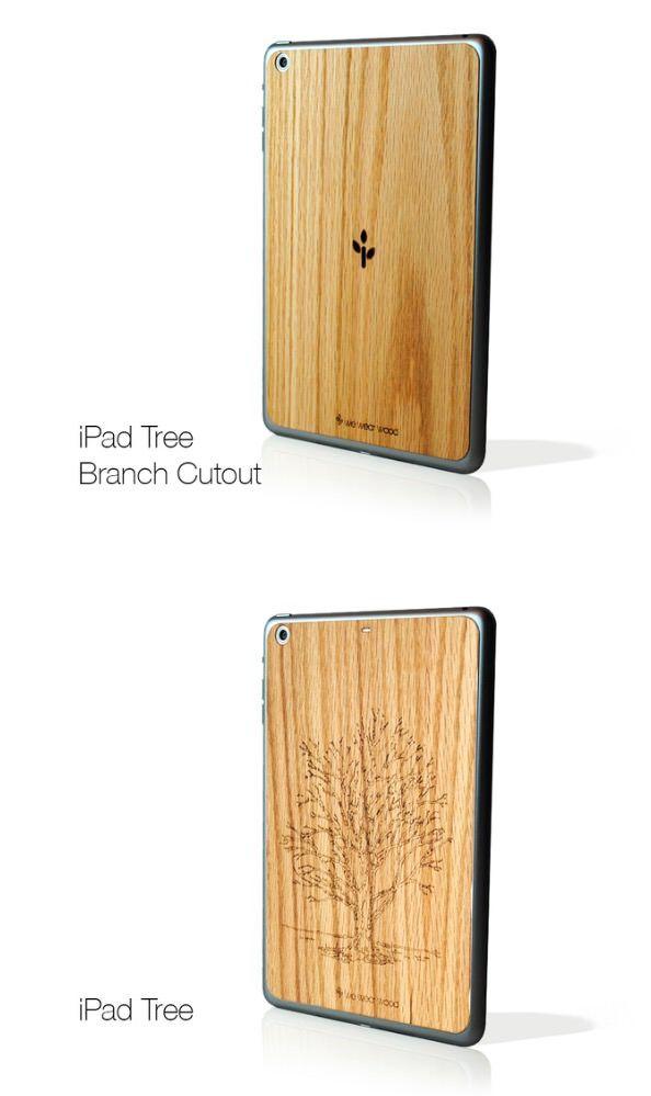We Wear Wood деревянные чехлы для iPhone, iPad и Mac