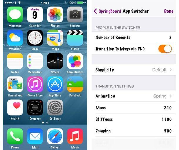 Альтернативные цвета и шрифты для iOS 8