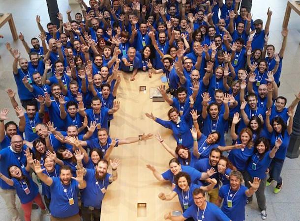 Apple Store в Испании