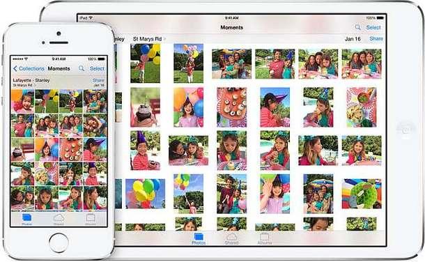 Фото в iOS 8