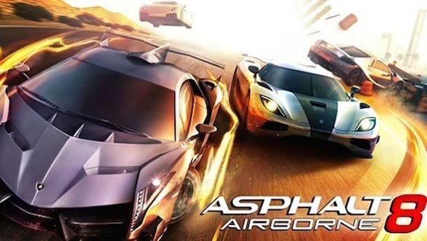 asphalt 8 airborne для iPhone