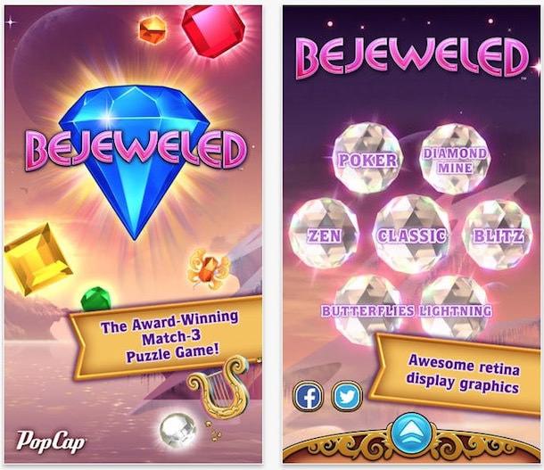 bejeweled для iphone и ipad