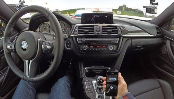 подключение камеры GoPro к BMW