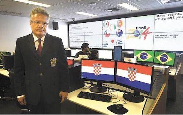 Глава Центра безопасности Чемпионата мира в Бразилии