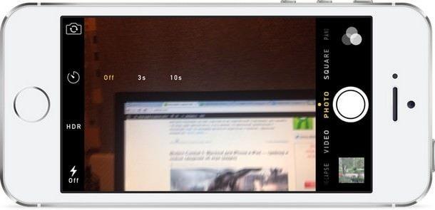 Камера в iOS 8