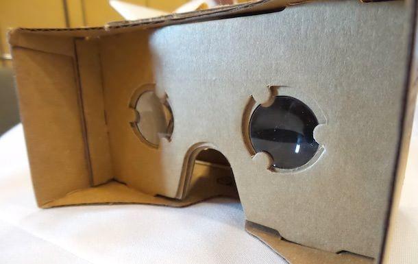 cardboard Шлем виртуальной реальности из картона от Google