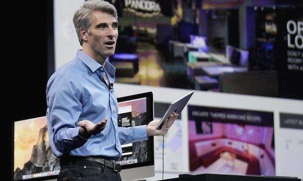 Apple Крейг федериги WWDC