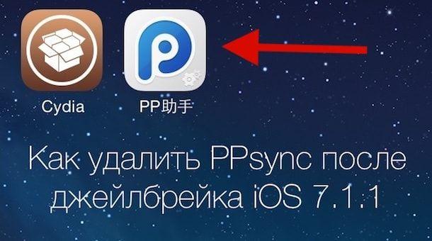 Как удалить ppsync