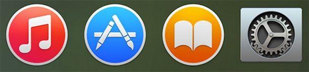 iTunes, App Store, Settings