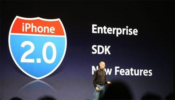 Стив Джобс презентация iPhone OS 2