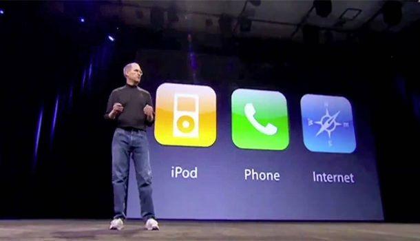 Стив Джобс презентация iPhone OS 1