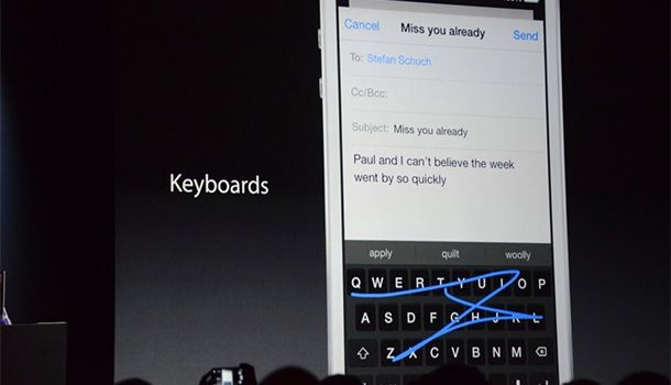 Сторонние клавиатуры в iOS