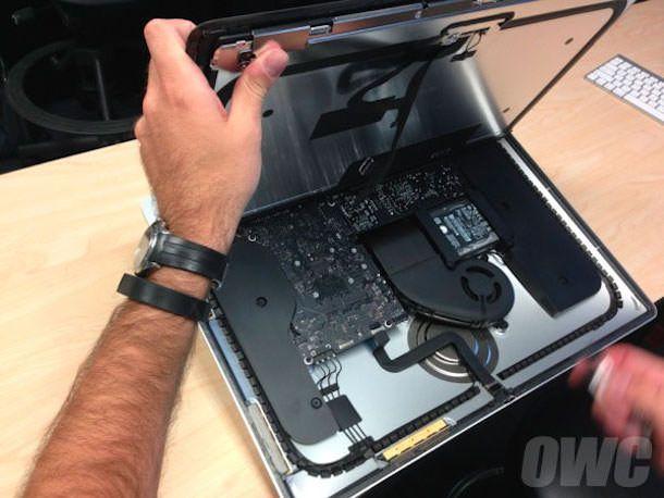 iMac замена памяти невозможна