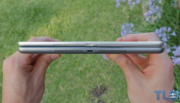 Прорези динамиков макета iPad 6
