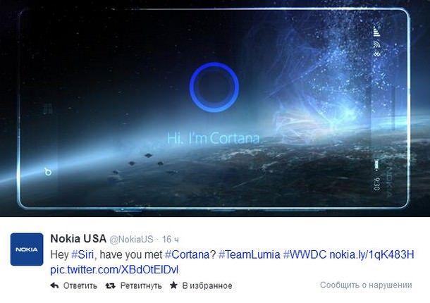 WWDC 2014 Nokia