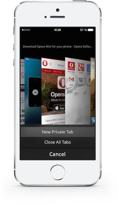 opera mini для iphone
