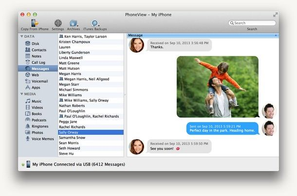 phoneview-on-mac