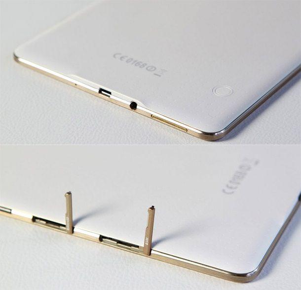 Galaxy Tab S порты