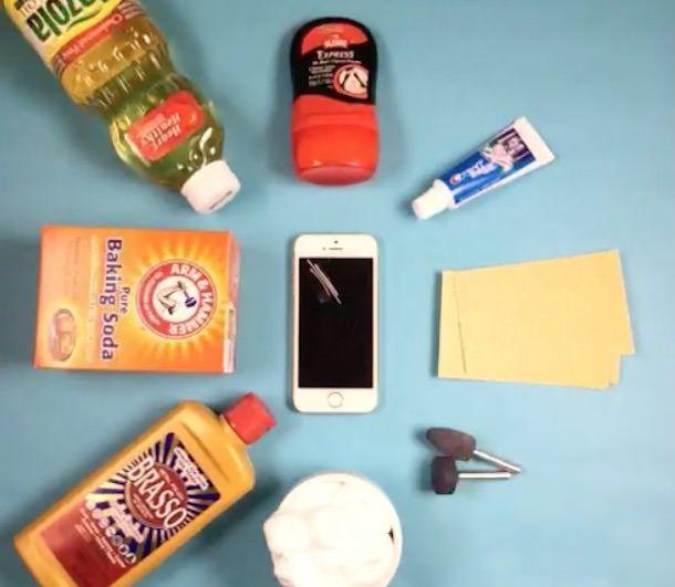 Как убрать царапины на iPhone