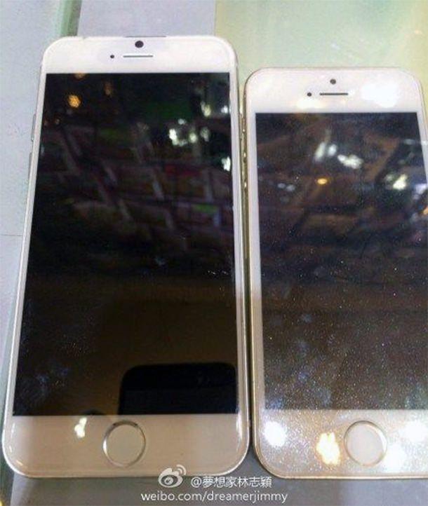 Фотографии iPhone 6 на Weibo