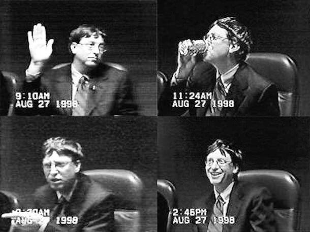 Билл Гейтс в суде
