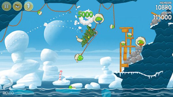 Angry Birds Seasons для iPhone, iPhone
