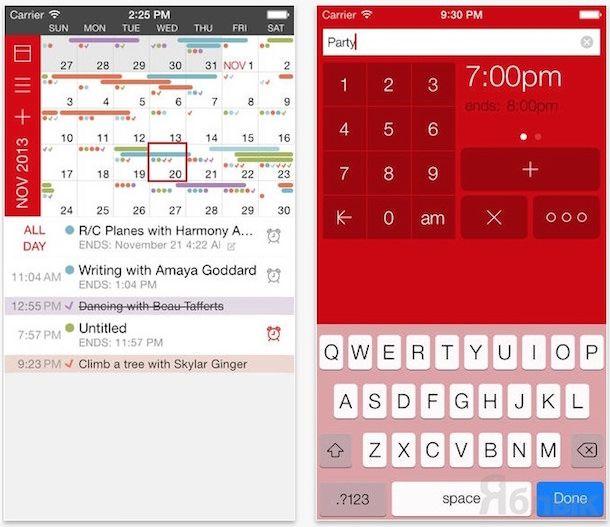 Календарь Calvetica Calendar для ipad