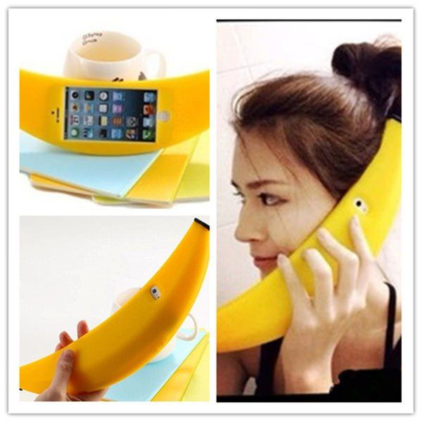 Big Banana чехол iPhone 5S