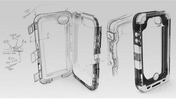 патент защитного чехла driPhone