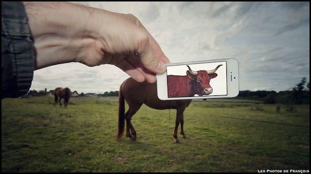 Фотомонтаж на iPhone