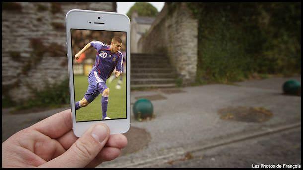 Креативные фото при помощи iPhone