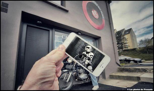 Фотоколлаж на iPhone