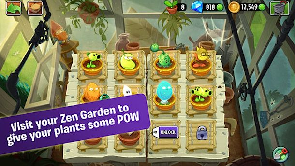 Plants vs Zombies 2 для iPhone и iPad