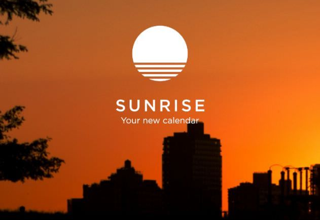 sunrise календарь для Mac, iPhone, iPad
