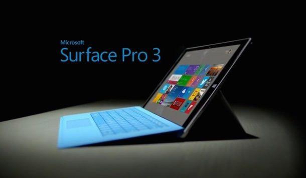 планшет ноутбук Microsoft Surface Pro 3