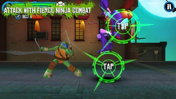 Teenage Mutant Ninja Turtles: Rooftop Run для iPhone и iPad