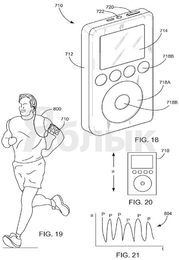 умная музыка от Apple патент