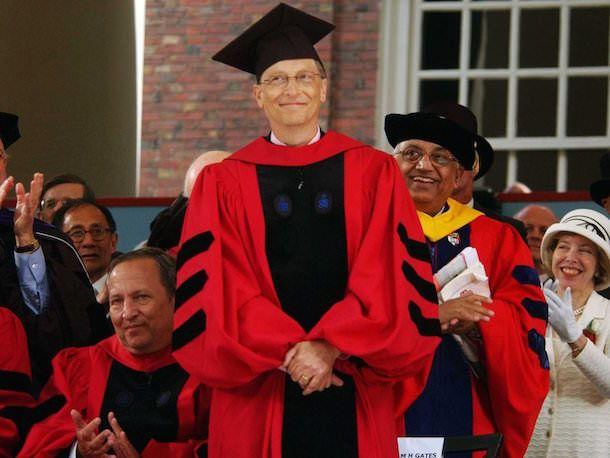 Бил Гейтс в университете