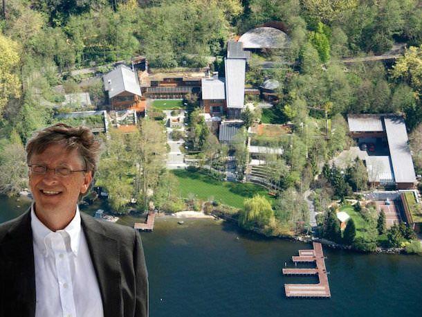 Дом Билла Гейтся