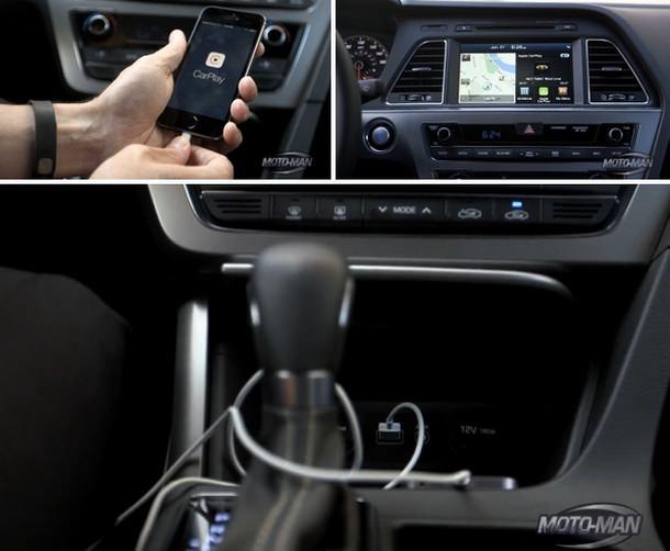 CarPlay Hyundai Sonata
