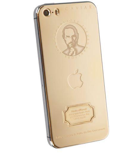 Caviar - iPhone 5s с изображением Стива Джобса