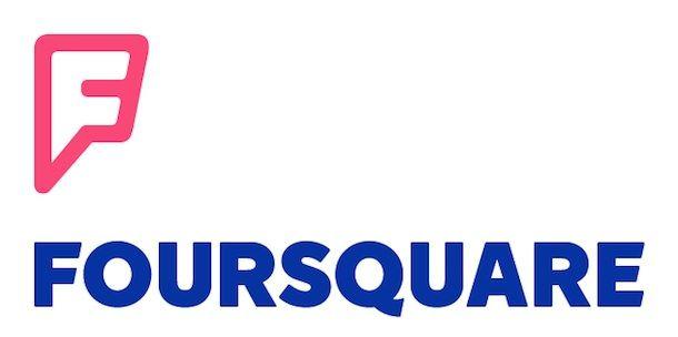 foursquare логотип