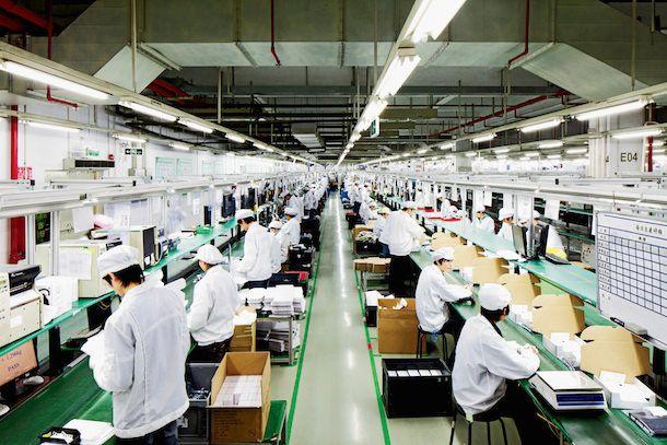Завод Foxconn, сборка iPhone недорого