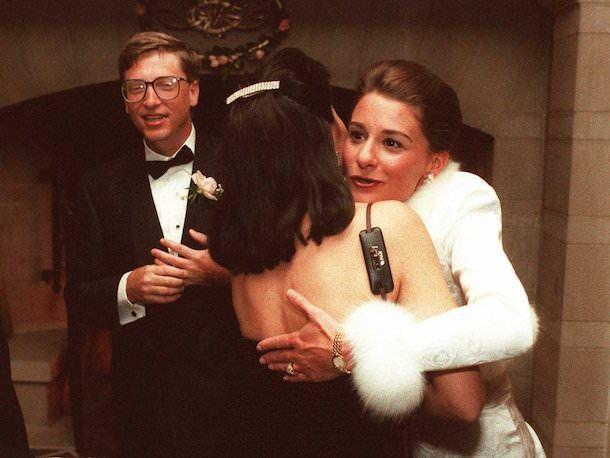 Билл и Мелинда Гейтс поженились