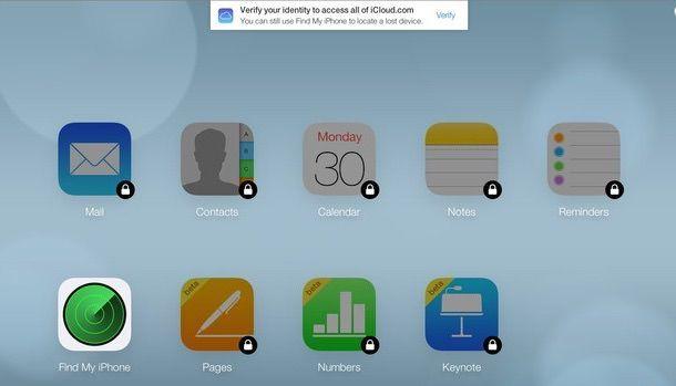 iCloud двухфакторная авторизация