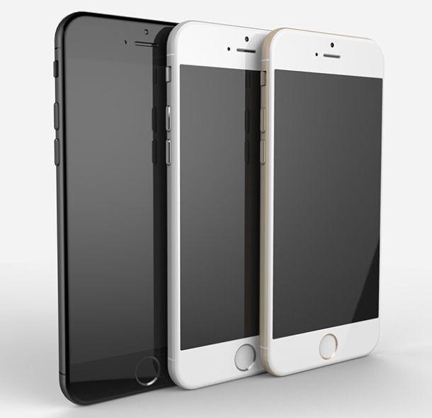 Золотой, серый космос, серебристый iPhone 6