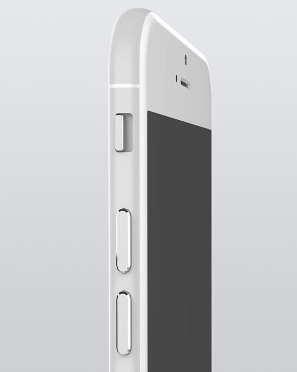 серебристый iPhone 6