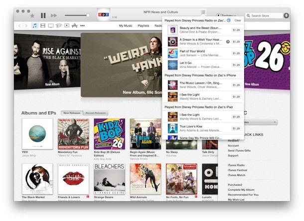 iTunes 12 для OS X Yosemite-2